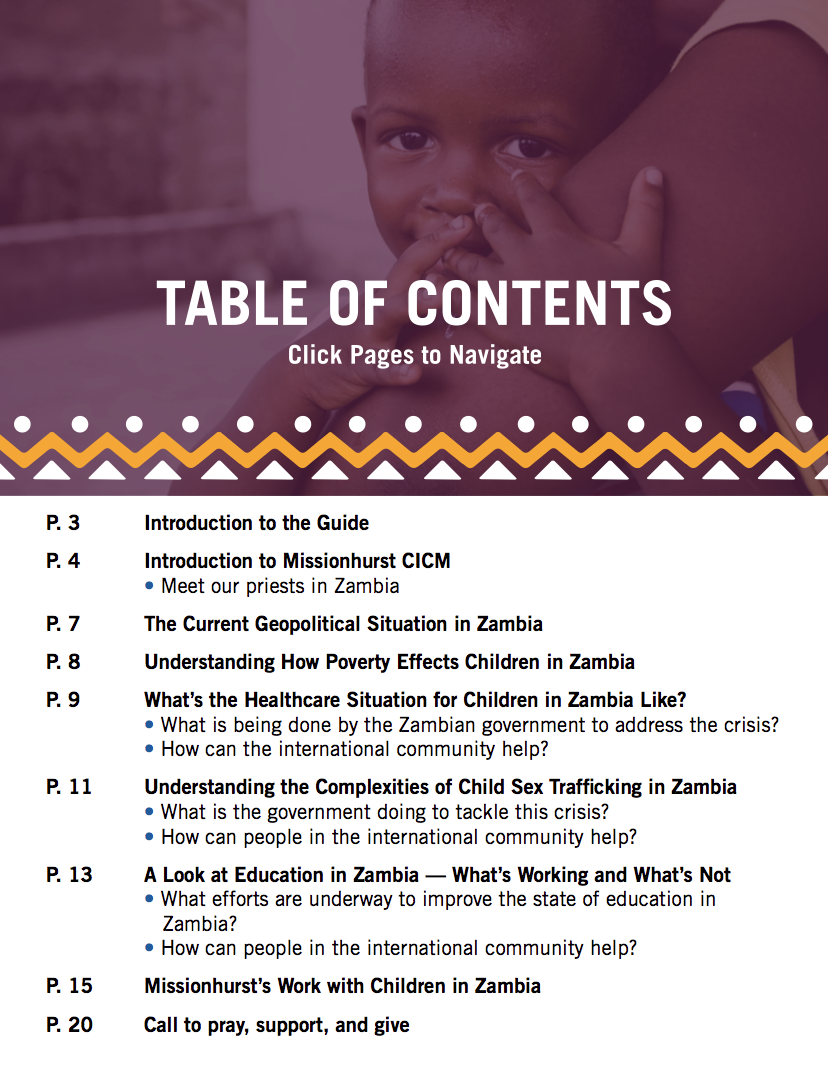 The State of Children in Zambia Table of Contents.png