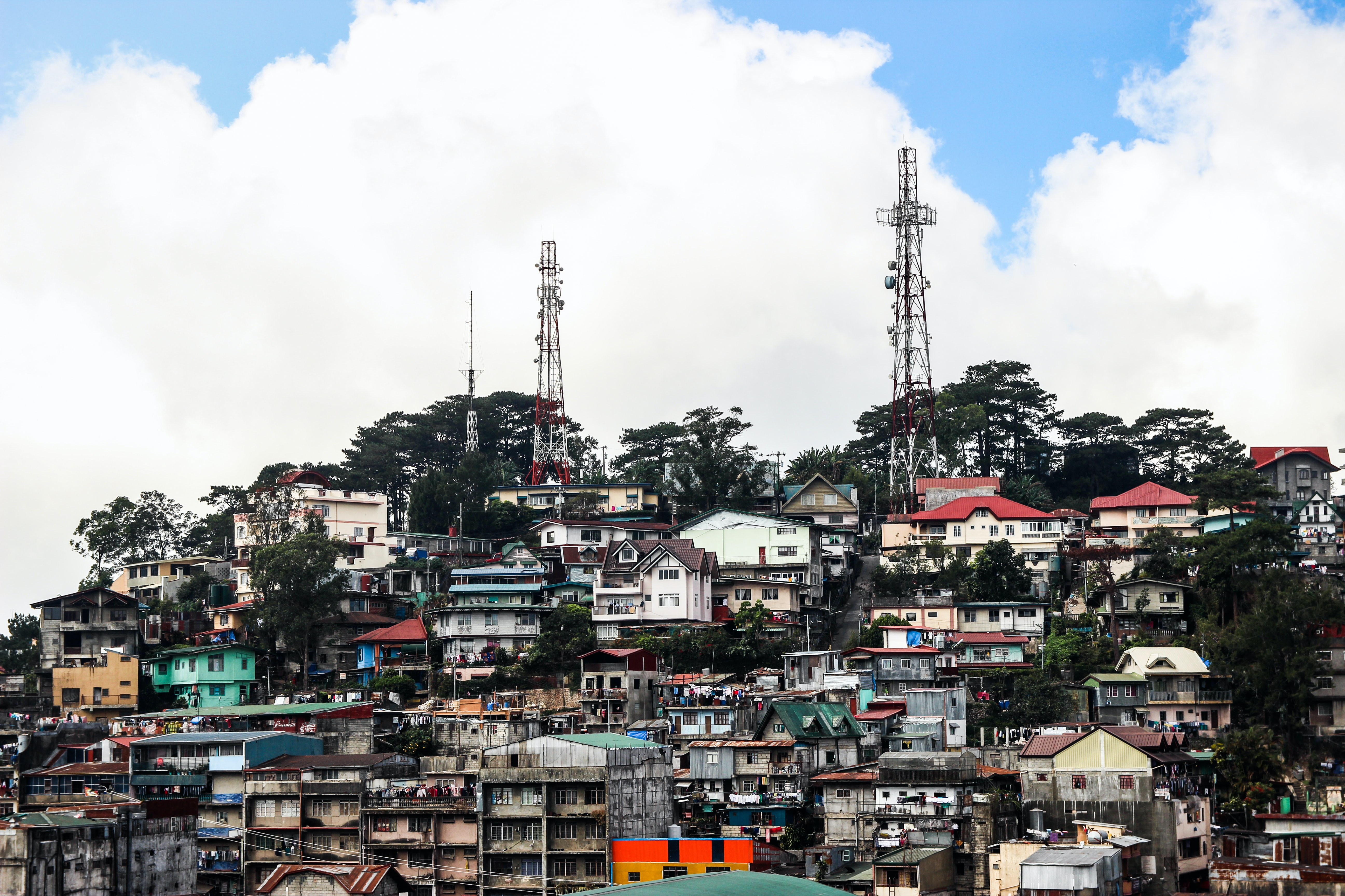 Baguio City in the Philippines