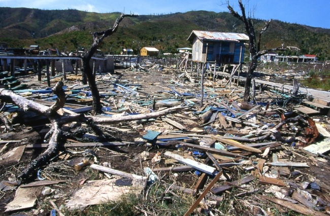 Hurricane Irma's devastating effects on Haiti and the Dominican Republic